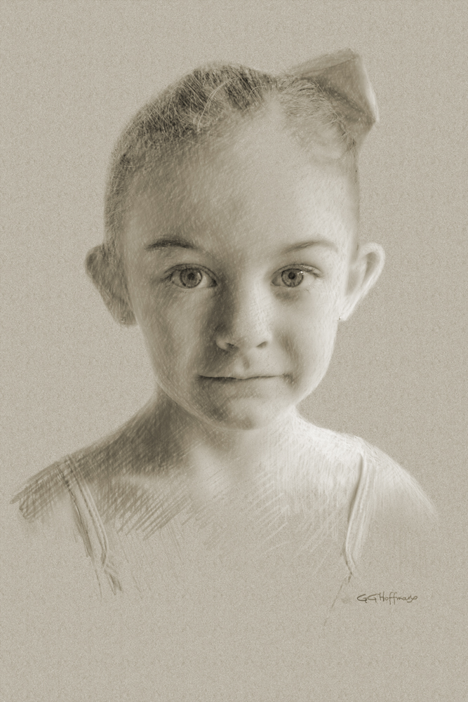 A portrait of ava done with photoshop cc 2017 printed on epson ultra premium matte photo paper
