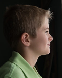 Original photo of Josiah in profile